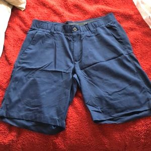 Under Armour Navy Blue Heatgear Golf Shorts